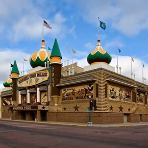 Corn Palace in Mitchell, South Dakota