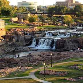 Fall Park in Sioux Falls South Dakota