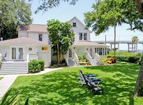 Cygnet House at Night Swan in New Smyrna Beach, Florida