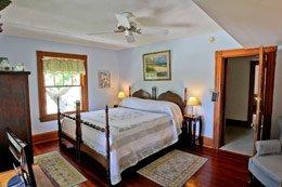 Room at Night Swan Inn in New Smyrna Beach, Florida