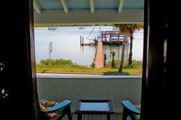 River Breeze South Porch Night Swan Inn