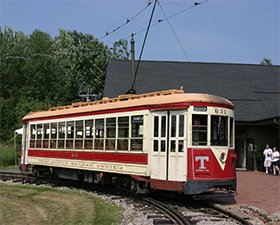 seashore trolley museum near Cutty Sark Motel in York, Maine by By Rene Schwietzke from Jena, Germany (Seashore Trolley Museum) [CC-BY-2.0 (http://creativecommons.org/licenses/by/2.0)], via Wikimedia Commons