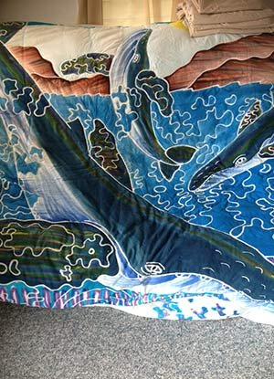 whale room in Kona Hawaii Guest House in Kona, Hawaii