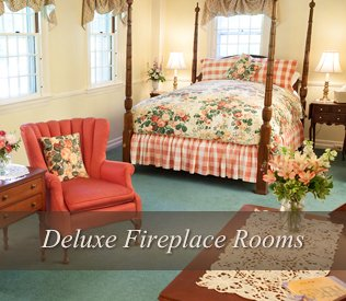 Fireplace Rooms at Adair Country Inn & Restaurant