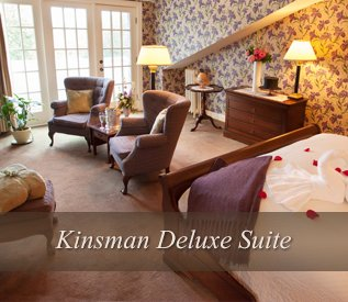 Kinsman Deluxe Suite at Adair Country Inn & Restaurant
