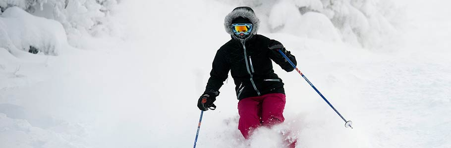 skiing near Adair in Bethlehem, New Hampshire