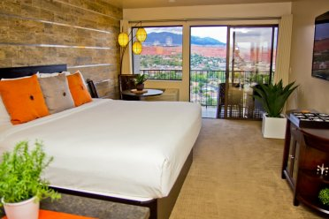 Guest Room at Inn on the Cliff Hotel and Restaurant in St. George, Utah