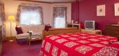 Wild Rose room at The Sawyer House in Sturgeon Bay, WI