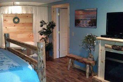 Senerity Suite in Blessings Lodge in Millersburg, Ohio