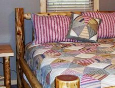 Guest Rooms at Blessings Cabins and Lodge in Millersburg, Ohio