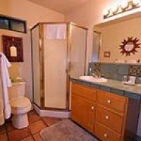 #10 bathroom in Blue Iguana Inn in Ojai, California
