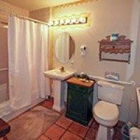#12 bathroom in Blue Iguana Inn in Ojai, California