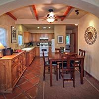 kitchen in Blue Iguana in Ojai, California