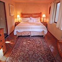 guest room in Blue Iguana in Ojai, California