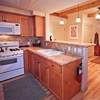 kitchen at Blue Iguana in Ojai, California