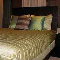 bedroom at 66 Center in Eureka Springs, Arkansas