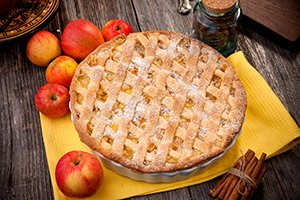 apple pie in Southwest Wisconsin
