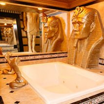 Egyptian Suite in Black Swann Inn in Pocatello, Idaho