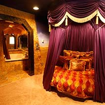 Arabian Nights Suite in Black Swann Inn in Pocatello, Idaho
