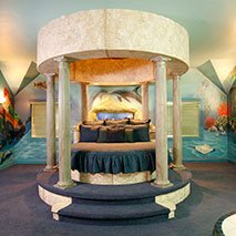 Atlantis Under the Sea Suite in Black Swan Inn in Pocatello, Idaho