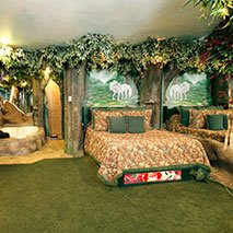 Enchanted Forest Suite in Black Swan Inn in Pocatello, Idaho