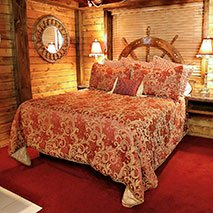 Pirate's Suite in Black Swan Inn in Pocatello, Idaho