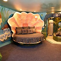 Sea Cave Suite in Black Swan Inn in Pocatello, Idaho