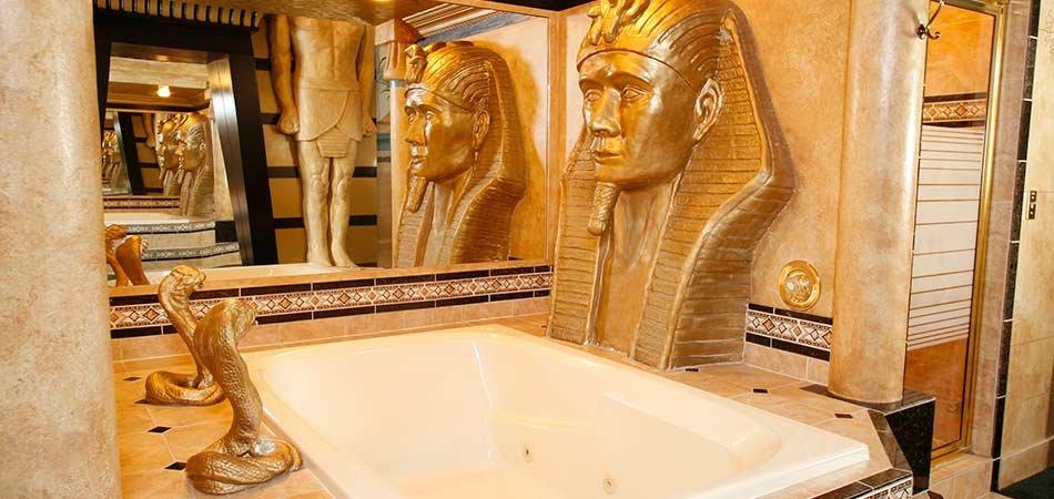 Egyptian Suite at Black Swan Inn in Pocatello  ID. Egyptian Suite   Black Swan Themed Idaho Inn