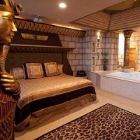 Egypt Room in Destinations Inn in Pocatello, Idaho