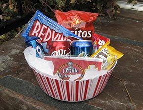 Gift Basket at Destinations Inn in Idaho Falls, ID