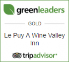 Trip Advisor Green Leaders Gold Award