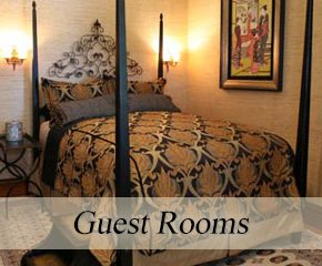 Guest Rooms at Historic Webster House in Bay City, Michigan