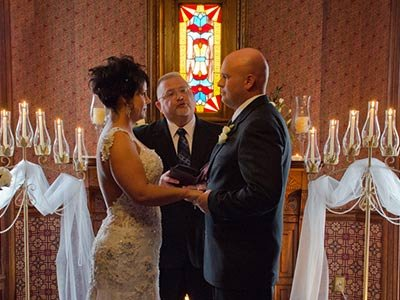 Wedding at The Historic Webster House Bed and Breakfast in Bay City, MI