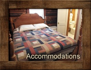 Accommodations at Hannagan Meadow Lodge in Alpine, Arizona