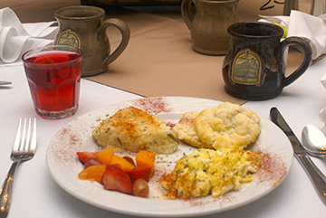 Southern Breakfast at The Cannonboro Inn in Charleston, South Carolina