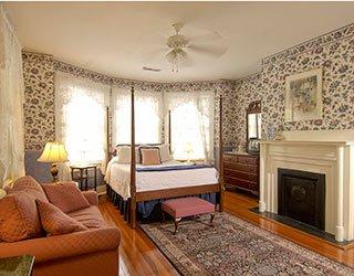 Bedroom at Cannonboro Inn in Charleston, South Carolina