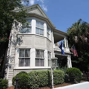 Inn History of Cannonboro Inn in Charleston, South Carolina