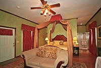 Emerald Dreams at Whispering Pines Bed & Breakfast in Norman OK