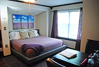 Lavender Suite at Whispering Pines Bed & Breakfast in Norman OK