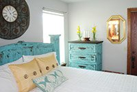 Satin Suite at Whispering Pines Bed & Breakfast in Norman OK