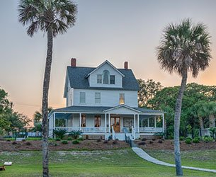 Surf Song Bed and Breakfast on Tybee Island, Georgia