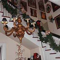 Christmas at Lockheart Gables in Fort Worth, Texas
