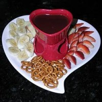 Chocolate fondue at Lockheart Gables in Fort Worth, Texas