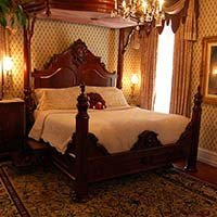 Forever Yours Room at Lockheart Gables in Fort Worth, Texas