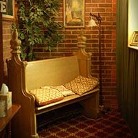 prayer room at Lockheart Gables in Fort Worth, Texas