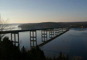 bridge near Bass and Baskets in Lake Ozark, MO