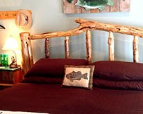 old bass lodge bass and baskets guest room