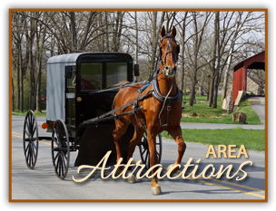Area Attractions Near Emig Mansion Bed and Breakfast in York County Pennsylvania