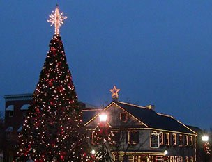 Holidays in Gettysburg near Emig Mansion Bed and Breakfast in York County Pennsylvania