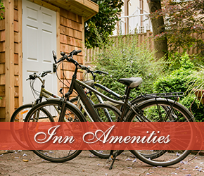 Inn Amenities at West End Guest House in Vancouver, British Columbia